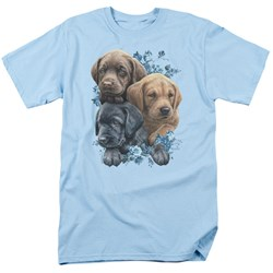 Wild Wings - Mens Puppy Pile T-Shirt