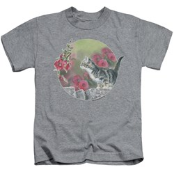 Wild Wings - Youth Kitten Flowers T-Shirt