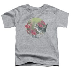Wild Wings - Toddlers Kitten Flowers T-Shirt