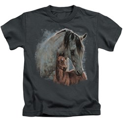 Wild Wings - Youth Painted Horses T-Shirt