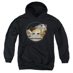 Wild Wings - Youth Everyone Loves Kitty Pullover Hoodie