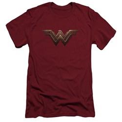 Wonder Woman Movie - Mens Wonder Woman Logo Slim Fit T-Shirt