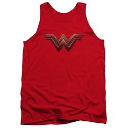 Wonder Woman Movie - Mens Wonder Woman Logo Tank Top