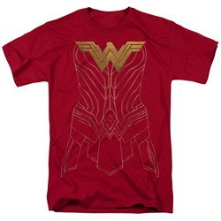 Wonder Woman Movie - Mens Armor Outline T-Shirt