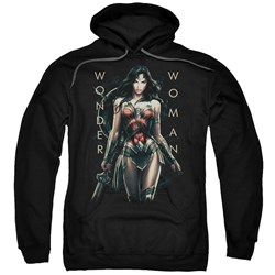 Wonder Woman Movie - Mens Armed And Dangerous Pullover Hoodie