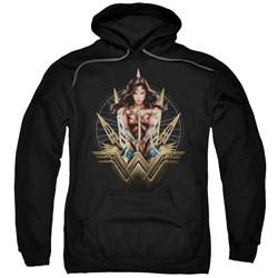 Wonder Woman Movie - Mens Wonder Blades Pullover Hoodie