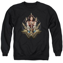 Wonder Woman Movie - Mens Wonder Blades Sweater