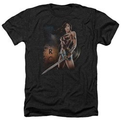 Wonder Woman Movie - Mens Fierce Heather T-Shirt