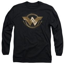 Wonder Woman Movie - Mens Lasso Logo Long Sleeve T-Shirt