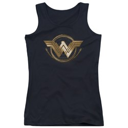 Wonder Woman Movie - Juniors Lasso Logo Tank Top