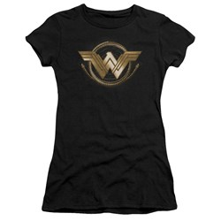 Wonder Woman Movie - Juniors Lasso Logo Premium Bella T-Shirt