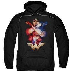 Wonder Woman Movie - Mens Arms Crossed Pullover Hoodie