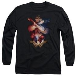 Wonder Woman Movie - Mens Arms Crossed Long Sleeve T-Shirt