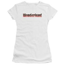 Zenoscope - Juniors Wonderland Logo Premium Bella T-Shirt