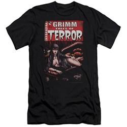 Zenoscope - Mens Terror Cover Premium Slim Fit T-Shirt