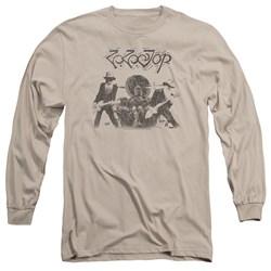 Zz Top - Mens First Album Long Sleeve T-Shirt