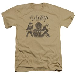 Zz Top - Mens First Album Heather T-Shirt