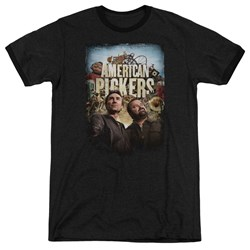 American Pickers - Mens Picker Poster Ringer T-Shirt