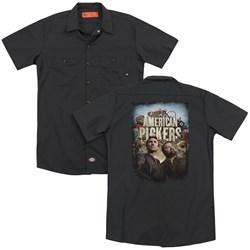 American Pickers - Mens Picker Poster (Back Print) Work Shirt