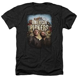 American Pickers - Mens Picker Poster Heather T-Shirt