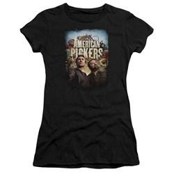 American Pickers - Juniors Picker Poster Premium Bella T-Shirt