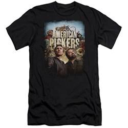 American Pickers - Mens Picker Poster Premium Slim Fit T-Shirt