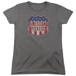 American Pickers - Womens Vintage Sign T-Shirt