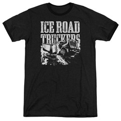 Ice Road Truckers - Mens Break The Ice Ringer T-Shirt