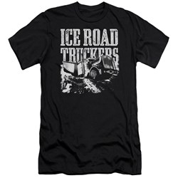 Ice Road Truckers - Mens Break The Ice Premium Slim Fit T-Shirt