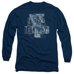 Ice Road Truckers - Mens King Of The Ice Road Long Sleeve T-Shirt