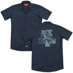 Ice Road Truckers - Mens King Of The Ice Road (Back Print) Work Shirt
