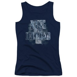 Ice Road Truckers - Juniors King Of The Ice Road Tank Top