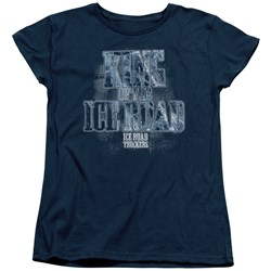 Ice Road Truckers - Womens King Of The Ice Road T-Shirt