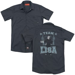 Ice Road Truckers - Mens Team Lisa (Back Print) Work Shirt
