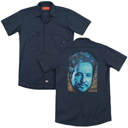 Ancient Aliens - Mens As Above So Below (Back Print) Work Shirt