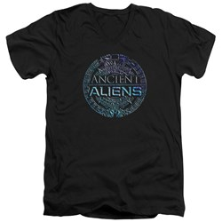 Ancient Aliens - Mens Symbol Logo V-Neck T-Shirt