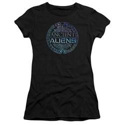 Ancient Aliens - Juniors Symbol Logo T-Shirt