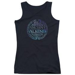 Ancient Aliens - Juniors Symbol Logo Tank Top