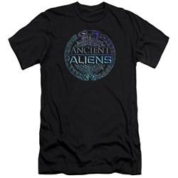 Ancient Aliens - Mens Symbol Logo Premium Slim Fit T-Shirt