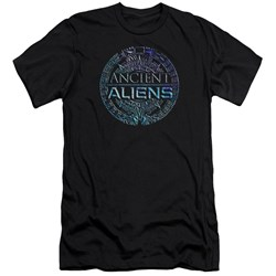 Ancient Aliens - Mens Symbol Logo Slim Fit T-Shirt