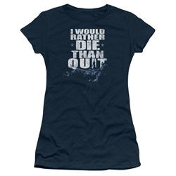 Six - Juniors No Quitting T-Shirt
