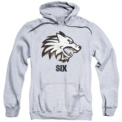 Six - Mens Wolf Pullover Hoodie