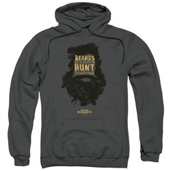 Duck Dynasty - Mens Beards Of A Feather Pullover Hoodie