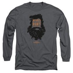 Duck Dynasty - Mens Beards Of A Feather Long Sleeve T-Shirt