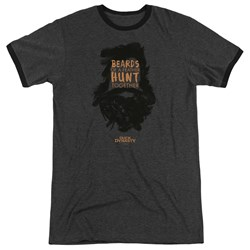 Duck Dynasty - Mens Beards Of A Feather Ringer T-Shirt