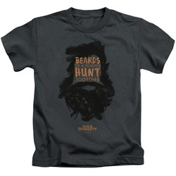 Duck Dynasty - Youth Beards Of A Feather T-Shirt