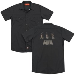 Mountain Men - Mens Rich Tom And Marty (Back Print) Work Shirt