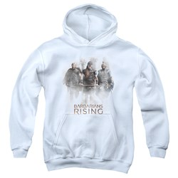 Barbarians Rising - Youth Three Barbarians Pullover Hoodie