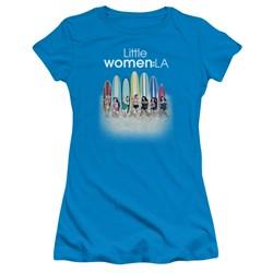 Little Women La - Juniors Surfs Up T-Shirt