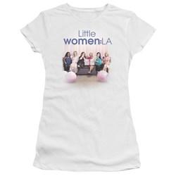 Little Women La - Juniors Baby Shower Premium Bella T-Shirt